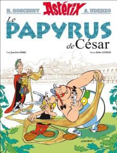 astérix papyrus de césar